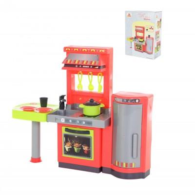 """Детская игрушечная кухня-набор """"Кристина"""" (в коробке) Palau Полесье 69764"""