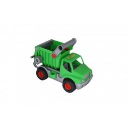 """Детский самосвал """"КонсТрак"""", автомобиль-самосвал зелёный (Wader Полесье)"""