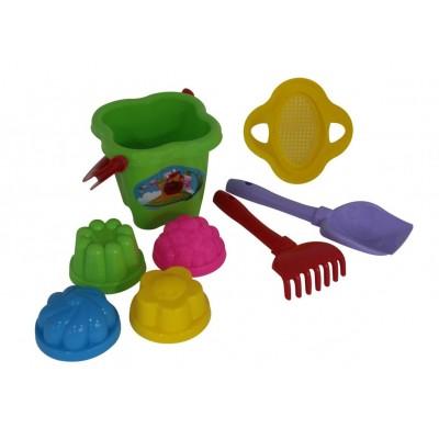 Набор игрушек для песочницы №142 Полесье (в сеточке)