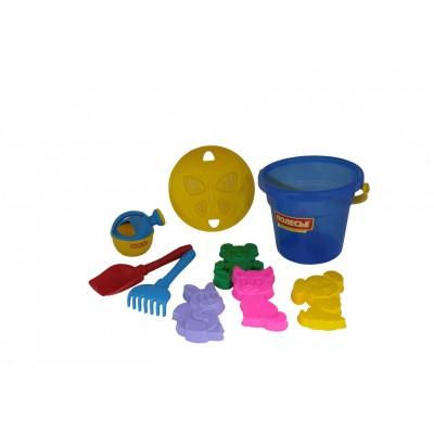 Набор игрушек для песочницы №246 Полесье (в сеточке)