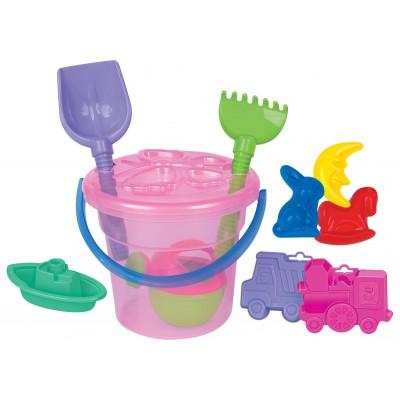 Набор игрушек для песочницы №247 Полесье (в сеточке)