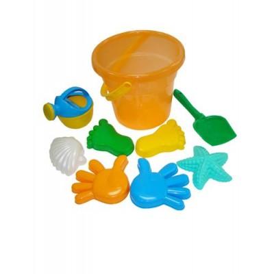 Набор игрушек для песочницы №354 Полесье (в сеточке)