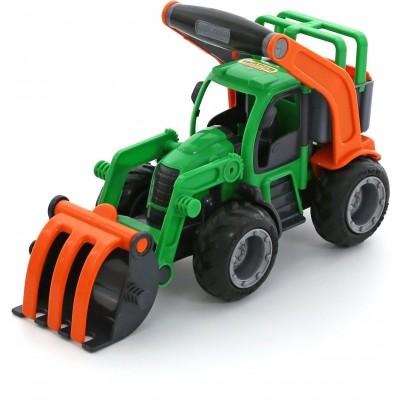 """Детский игрушечный трактор-погрузчик """"ГрипТрак"""" (в коробке) Полесье"""