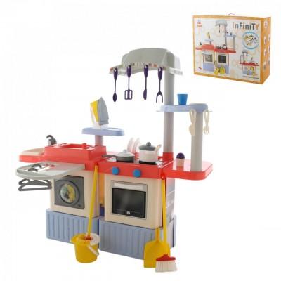 """Большая детская кухня с водой и звуком """"INFINITY premium"""" №4 (в коробке) Palau Полесье"""