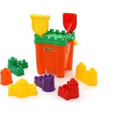 Набор игрушек для песочницы №470 Полесье (в сеточке)