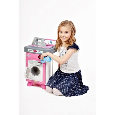 """Детская игровая кухня со звуком и светом """"Carmen"""" №2 со стиральной машиной (Coloma Polesie) Полесье"""