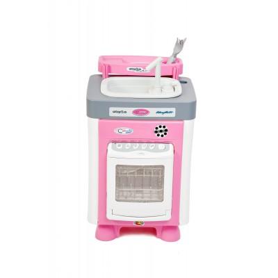"""Игровой набор для девочки """"Carmen"""" №3 с посудомоечной машиной и мойкой (в коробке) Полесье"""