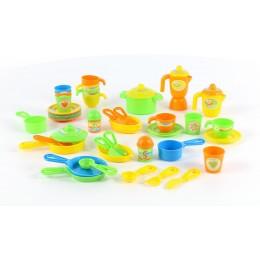 Набор игрушечной детской посуды (50 элементов) (в коробке) Palau Полесье