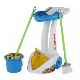 """Детский набор для уборки дома """"Чистюля"""" (6 элементов) Palau Полесье"""