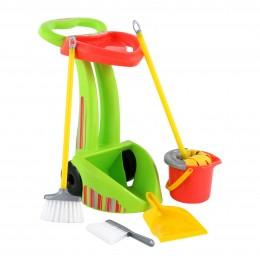 """Детский набор для уборки дома """"Чистюля-2"""" (6 элементов) Palau Полесье"""