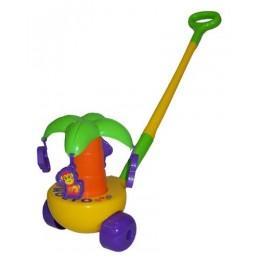 """Каталка игрушка """"Пальма"""" с ручкой (Полесье)"""