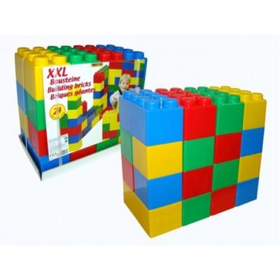 Конструктор строительный XXL, с большими элементами Полесье (36 элементов)