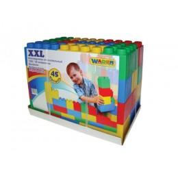 Конструктор строительный XXL, 45 элементов (Полесье) 37510