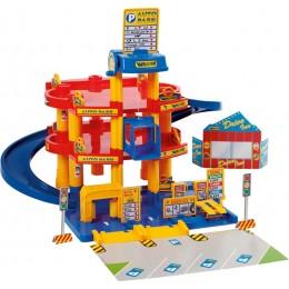 Детская парковка, паркинг 3-уровневый Auto Park с автомобилями (Wader)