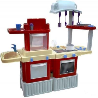 """Детская большая игровая кухня-набор """"INFINITY"""" basic №5 Полесье (в коробке) 42316"""