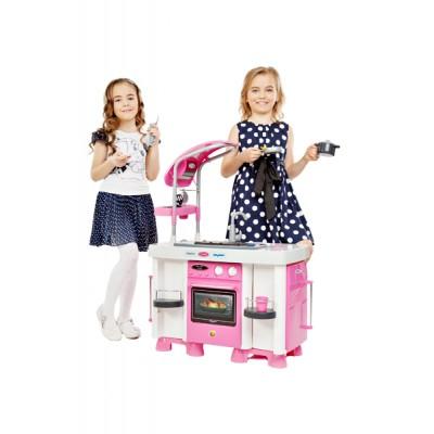"""Детская кухня """"Carmen"""" №7 с посудомоечной машиной и варочной панелью (Coloma Полесье) 47991"""