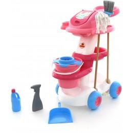 """Детский набор для уборки дома """"Помощница 4"""" (в пакете) Полесье"""