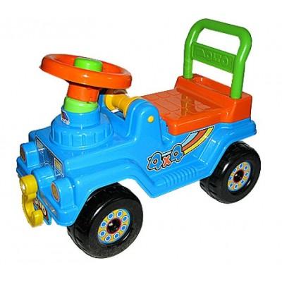 """Детский автомобиль-каталка """"Джип 4х4"""" Полесье Molto (со звуковым сигналом)"""