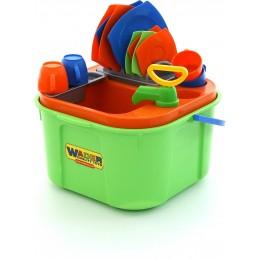"""Детский игровой набор для мытья посуды """"Мини-посудомойка"""" (Wader Полесье)"""