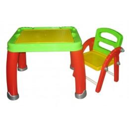 """Детский стол и стул """"Набор Дошкольника №2"""" (в коробке) Palau Полесье"""
