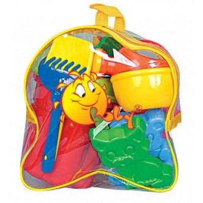 Набор игрушек для песочницы №167 (в рюкзаке) Полесье
