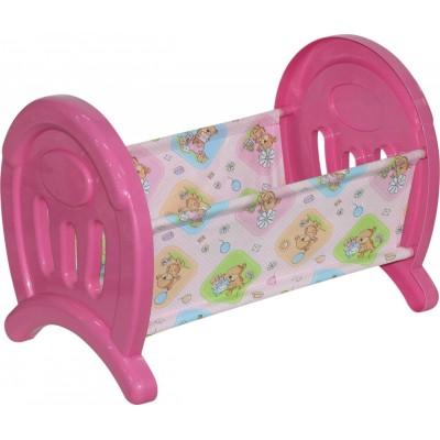 Кроватка сборная для кукол большая (в пакете) Полесье