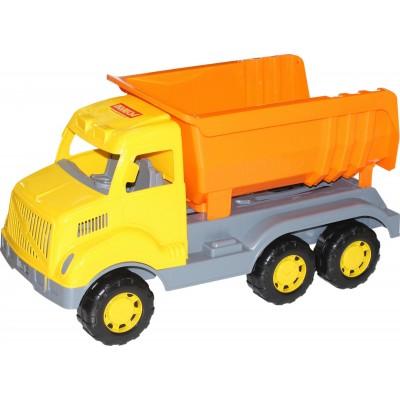 """Детская игрушечная машинка, автомобиль-самосвал """"Богатырь"""" Полесье"""