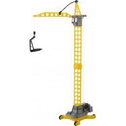 """Детский строительный башенный кран """"Агат"""" на колёсиках (Wader Полесье)"""