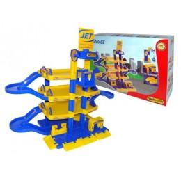 """Детская парковка, паркинг """"Jet"""" 4-уровневый (Wader Полесье)"""