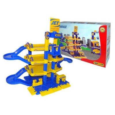 """Детская парковка, паркинг """"Jet"""" 4-уровневый (Wader Полесье) 40213"""
