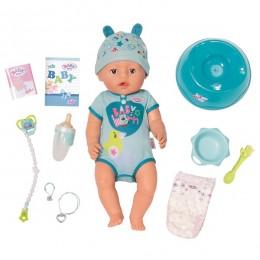 Интерактивная кукла Бэби Борн мальчик Zapf Creation Baby Born 824-375