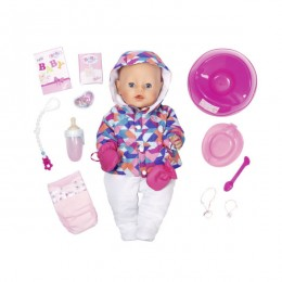 """Интерактивная кукла Бэби Борн Zapf Creation Baby Born 825-273 """"Зимняя пора"""""""