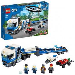 LEGO City 60244 Конструктор ЛЕГО Город Полицейский вертолётный транспорт