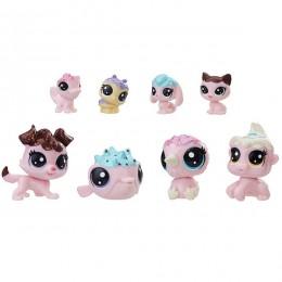Hasbro Littlest Pet Shop E0397 Литлс Пет Шоп Набор игрушек 8 Зефирных Петов