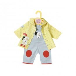 Zapf Creation 870-525 Комбинезон и курточка от дождя, 39-46 см (в ассортименте)