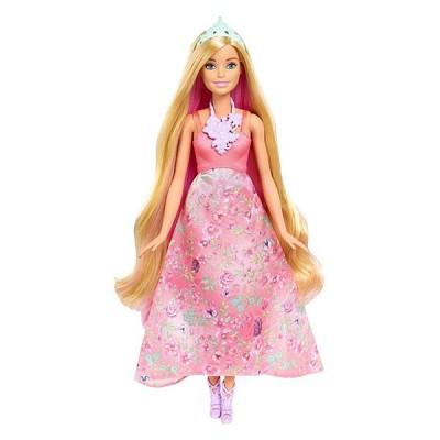 Mattel Barbie DWH42 Барби Принцесса с волшебными волосами