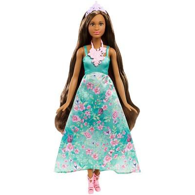 Mattel Barbie DWH43 Барби Принцесса с волшебными волосами