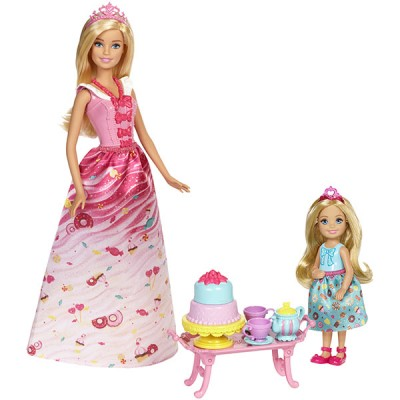 """Mattel Barbie FDJ19 Барби Игровой набор """"Чаепитие в Сладкограде"""""""