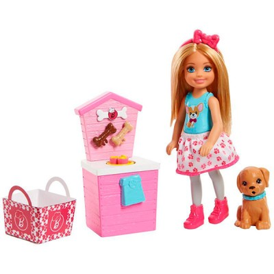 Mattel Barbie FHP67 Барби Челси и щенок