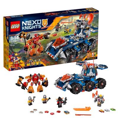 Lego Nexo Knights 70322 Конструктор Лего Нексо Башенный тягач Акселя