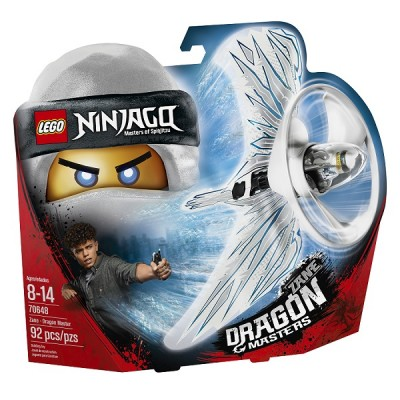 Lego Ninjago 70648 Конструктор Лего Ниндзяго Зейн Мастер дракона