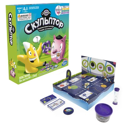Настольная игра Hasbro (Хасбро) Other Games C0433 Игра Скульптор