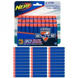 Hasbro Nerf A0351 Нерф 30 стрел для бластеров Элит