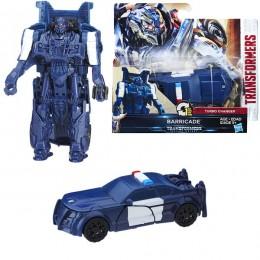 Hasbro Transformers C0884/C1313 Трансформеры 5: Уан-степ Баррикейд