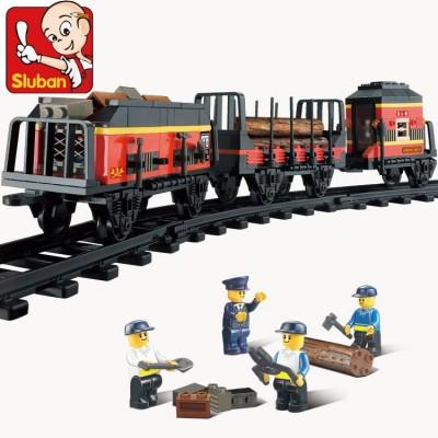 """Конструктор """"Железнодорожный вокзал: Вагоны для поезда """"  255 деталей"""