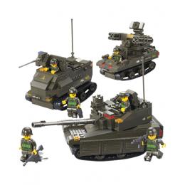 """Конструктор """"Вооружённые силы: Военная техника,Танковые учения"""""""