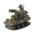 """Конструктор """"Вооружённые силы: Военная техника,Танковые учения"""" 609 деталей"""