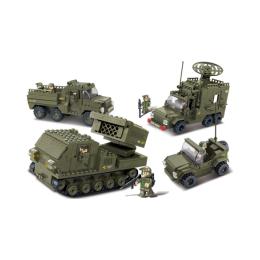 """Конструктор """"Сухопутные войска 2"""" средний набор"""