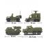 """Детский конструктор  """"Сухопутные войска 2"""" средний набор Sluban (Слубан)"""
