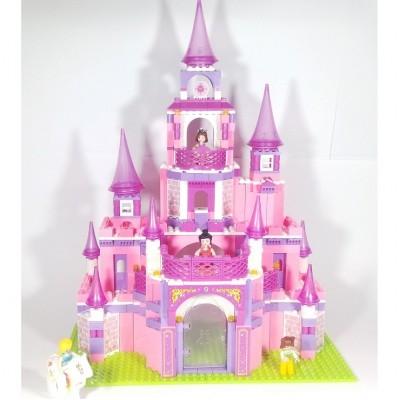 """Конструктор """"Розовая мечта"""" - Замок принцессы (Sluban)"""